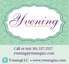 Check out our sponsor Yvening Wedding Planning and Catering
